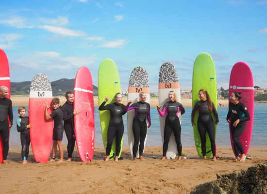surf camp spanelsko